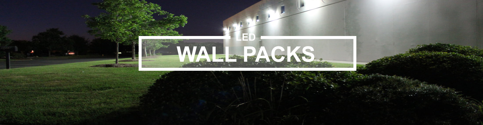 Wall packs
