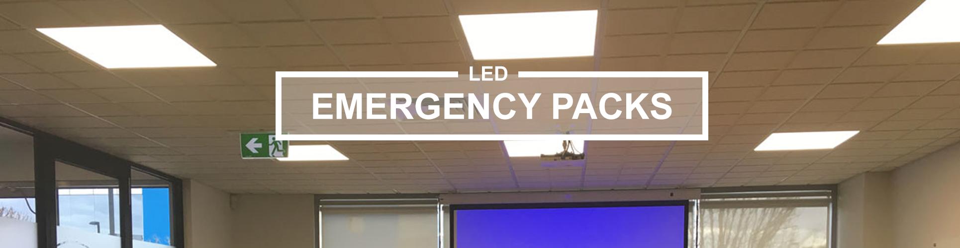 Emergency packs