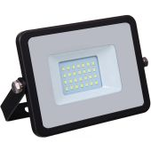 LED Floodlight with Samsung 20W Waterproof Outdoor Black IP65 6400K