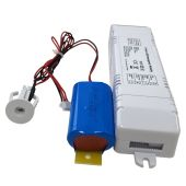 Universal Emergency Battery Back-up for Recessed LED for 3 - 36 Watt LED Panels