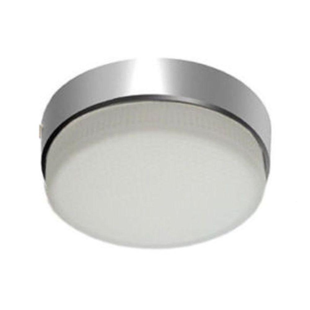 2 Watt 268mm 240 Volt Led Strip Light Fitting: GX53 Silver Base Fitting Complete With 4 Watt LED Lamp