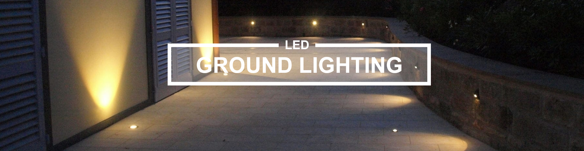 Ground lighting