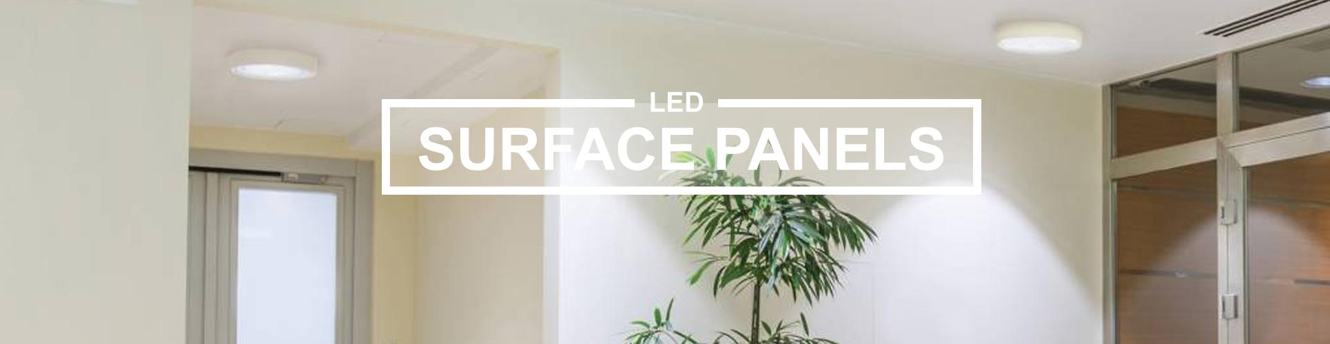 Surface LED panels