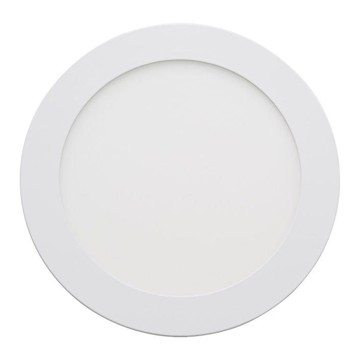 Round LED Recessed Ceiling Panel Lighting White 12 Watt Light