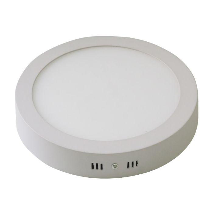 LED Round Surface Mounted Lighting Panel Ceiling Light 24 Watt